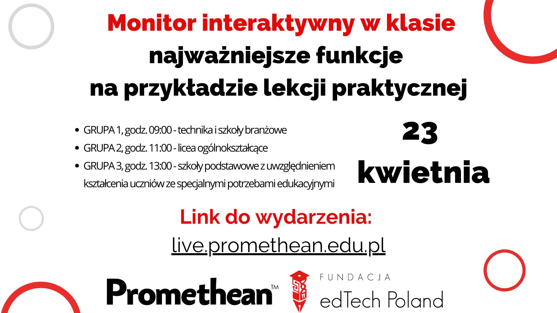 Monitor interaktywny w klasie -  najważniejsze funkcje na przykładzie lekcji praktycznej