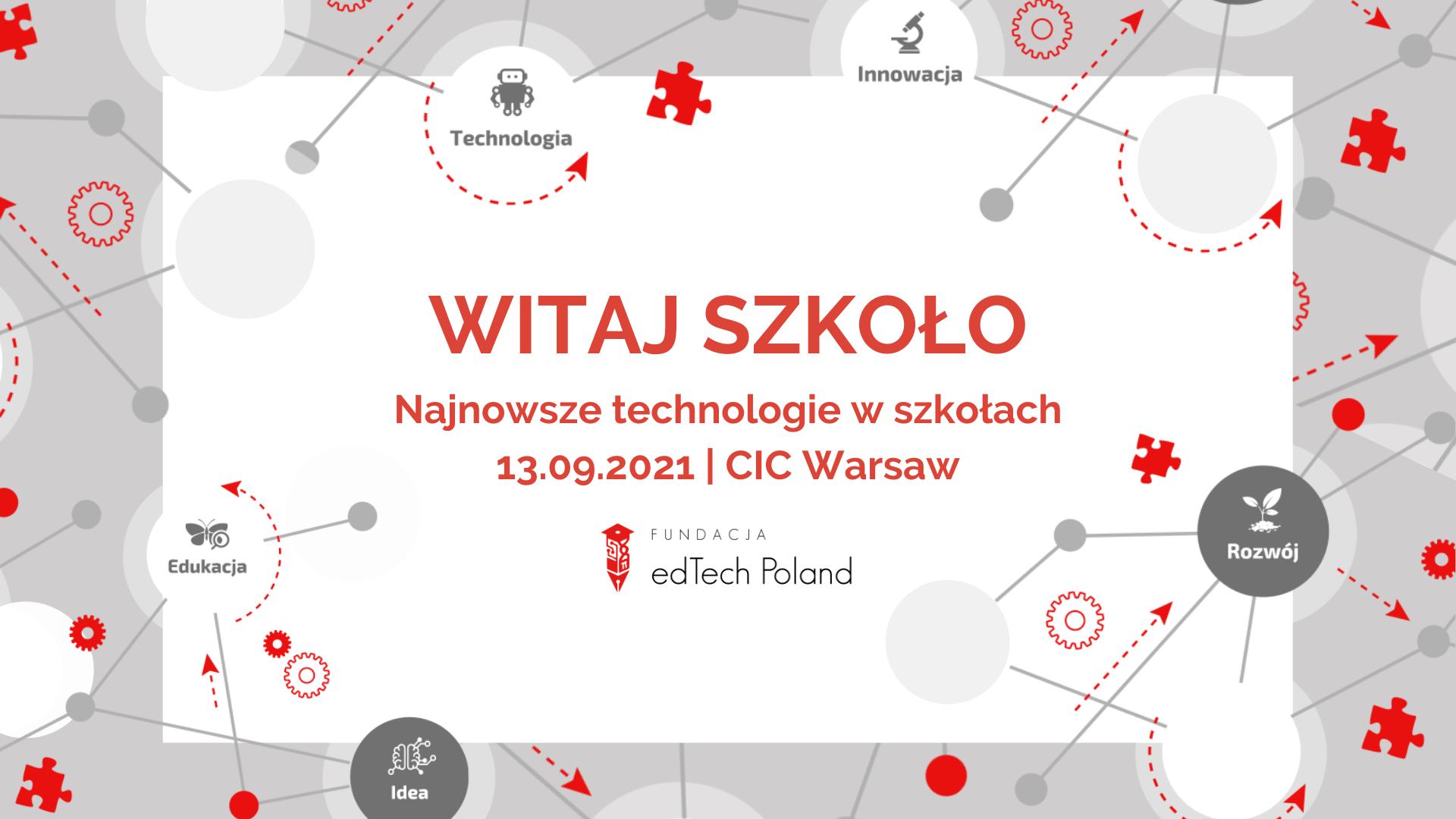 """Konferencja """"Witaj Szkoło"""" za nami!"""